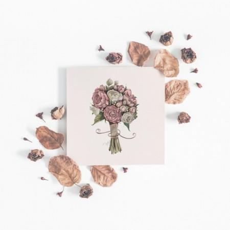 Små kunstkort (10cm)